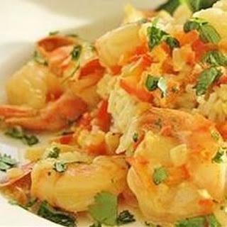 Curry-Coconut Shrimp.