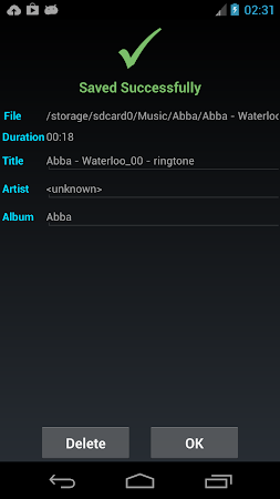 ZeoRing  - Ringtone Editor 1.4.2 screenshot 205580
