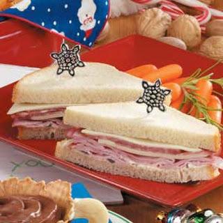 Ho-Ho-Ho Sandwiches.
