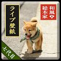 和風総本家/七代目豆助(冒険)ライブ壁紙 icon