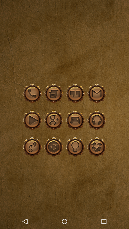Steampunk - Icon Pack- screenshot