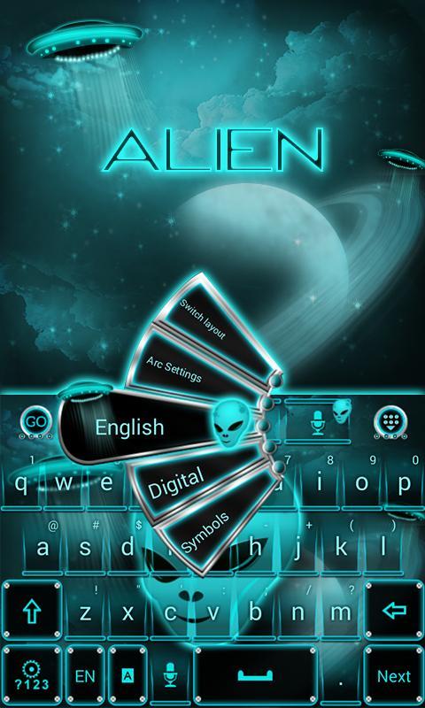 Alien-Space-GO-Keyboard-Theme 8