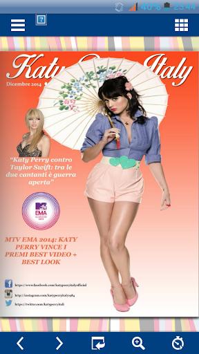 Katy Perry Italy Magazine