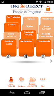 ING DIRECT Negocios - screenshot thumbnail