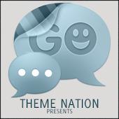 GO SMS Theme Clean Minimal