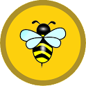 Golden Bee Spelling Free icon