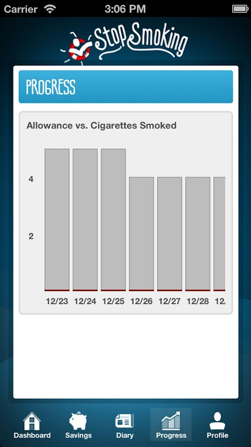Stop Smoking Cessation - screenshot