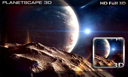 Planetscape 3D Live Wallpaper- screenshot thumbnail