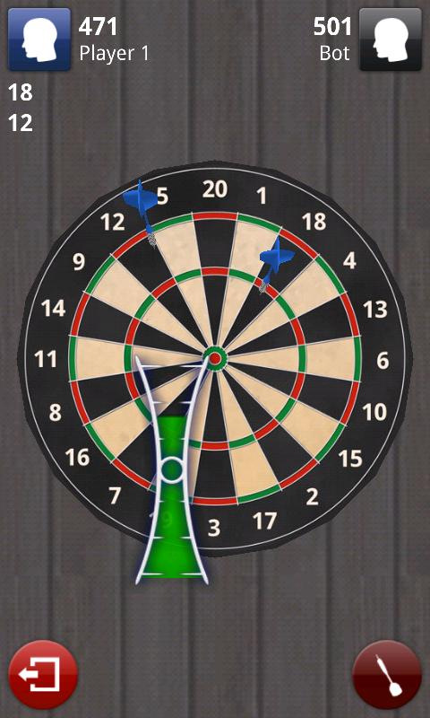 Darts 3D Pro - screenshot