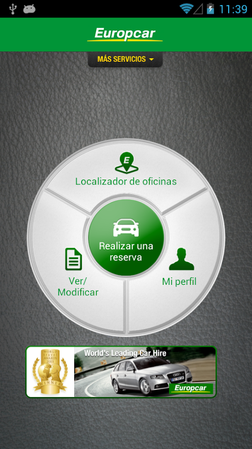Europcar Chile- screenshot