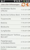 Screenshot of AltbaumFinder