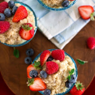 Quinoa Breakfast Pudding.