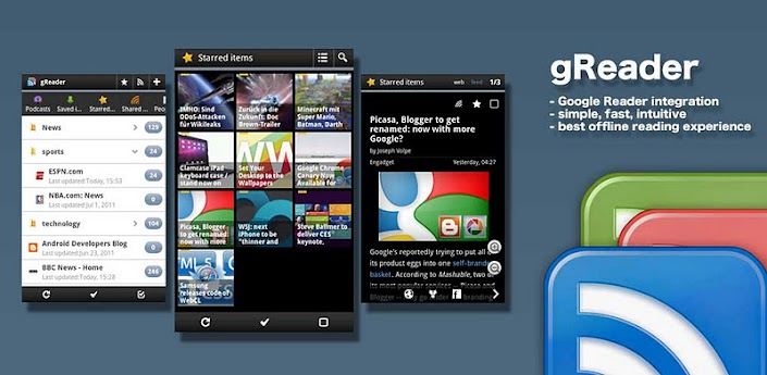 gReader Pro (Google Reader) v2.5.4