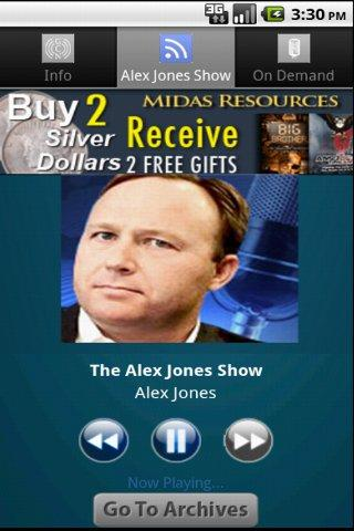 The Alex Jones Show - screenshot