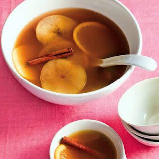 Warm Cider and Rum Punch.