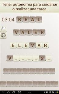 Juego de Palabras en Español - screenshot thumbnail