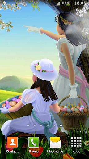 Natural Easter Live Wallpaper