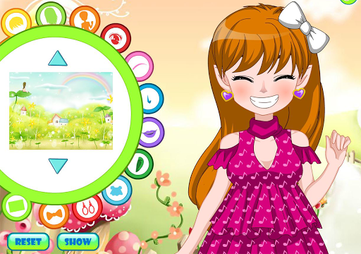 Girls Avatar Creator DressUp