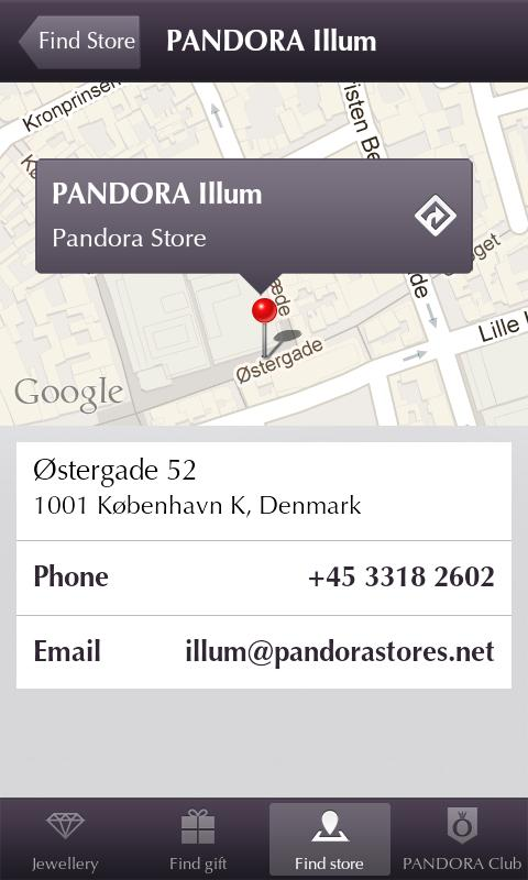 Pandora Jewelry - screenshot