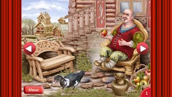 Screenshot of Сказка Курочка Ряба +пазлы