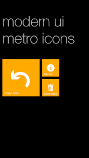 Modern UI Metro Icons- screenshot thumbnail