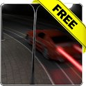 Cars at night Free icon