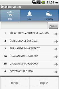 Istanbul Ulasim - screenshot thumbnail