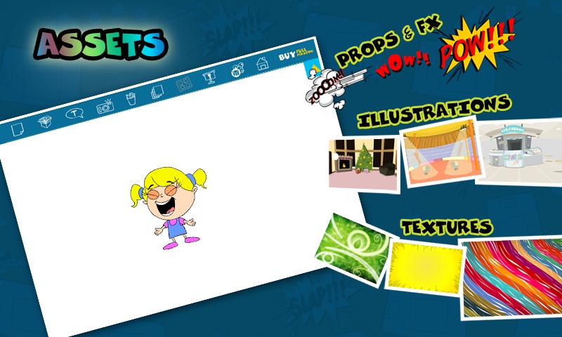 Comics Head Lite- comic maker - screenshot