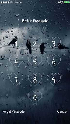Rainy Lockscreen