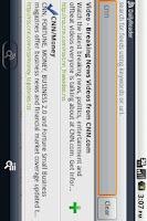 Screenshot of Daily Reader (Google Reader)