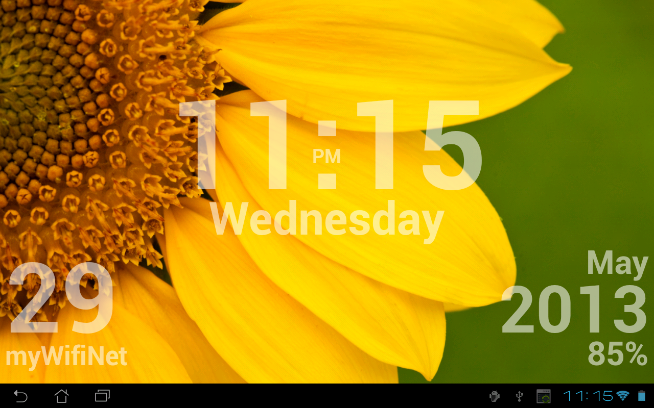 DIGI Clock Live Wallpaper Android Apps on Google Play