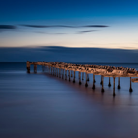 by Mark Anolak - Landscapes Waterscapes ( chile, night photography, punta arenas,  )