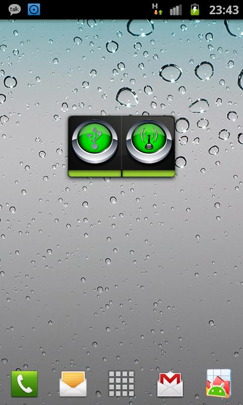 Perfect WiFi USB Tether Widget - screenshot