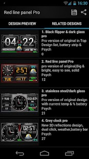 Thousand Clock Widgets- screenshot thumbnail