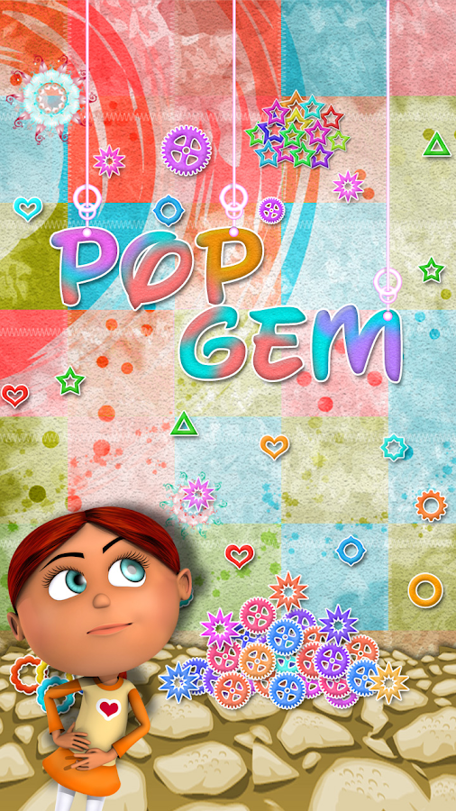 Pop Gem Deluxe- screenshot