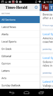 Vallejo Times Herald - screenshot thumbnail