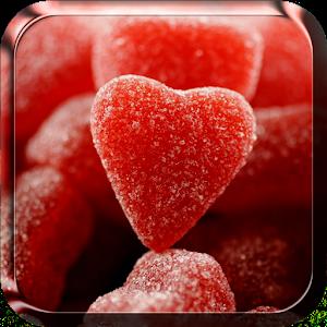 甜蜜的心動態壁紙 個人化 LOGO-玩APPs