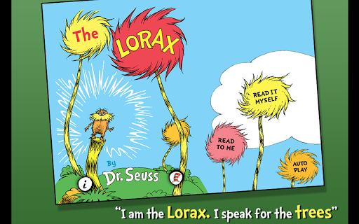 玩書籍App|The Lorax - Dr. Seuss免費|APP試玩