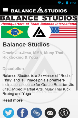 Balance MMA- screenshot