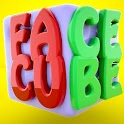 Face Cube Dice Puzzle icon