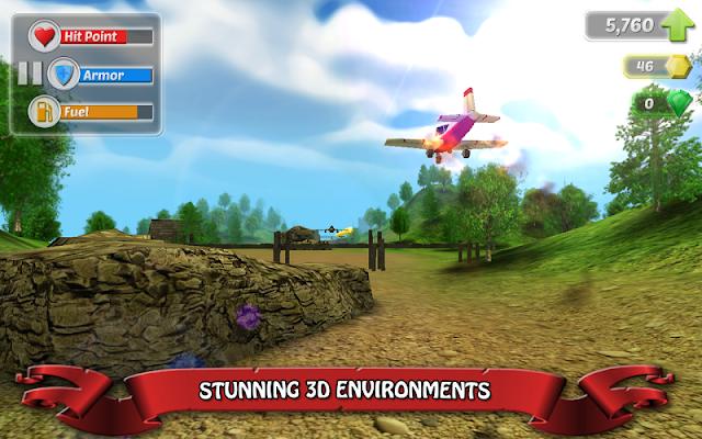 Wings on Fire - Endless Flight - screenshot