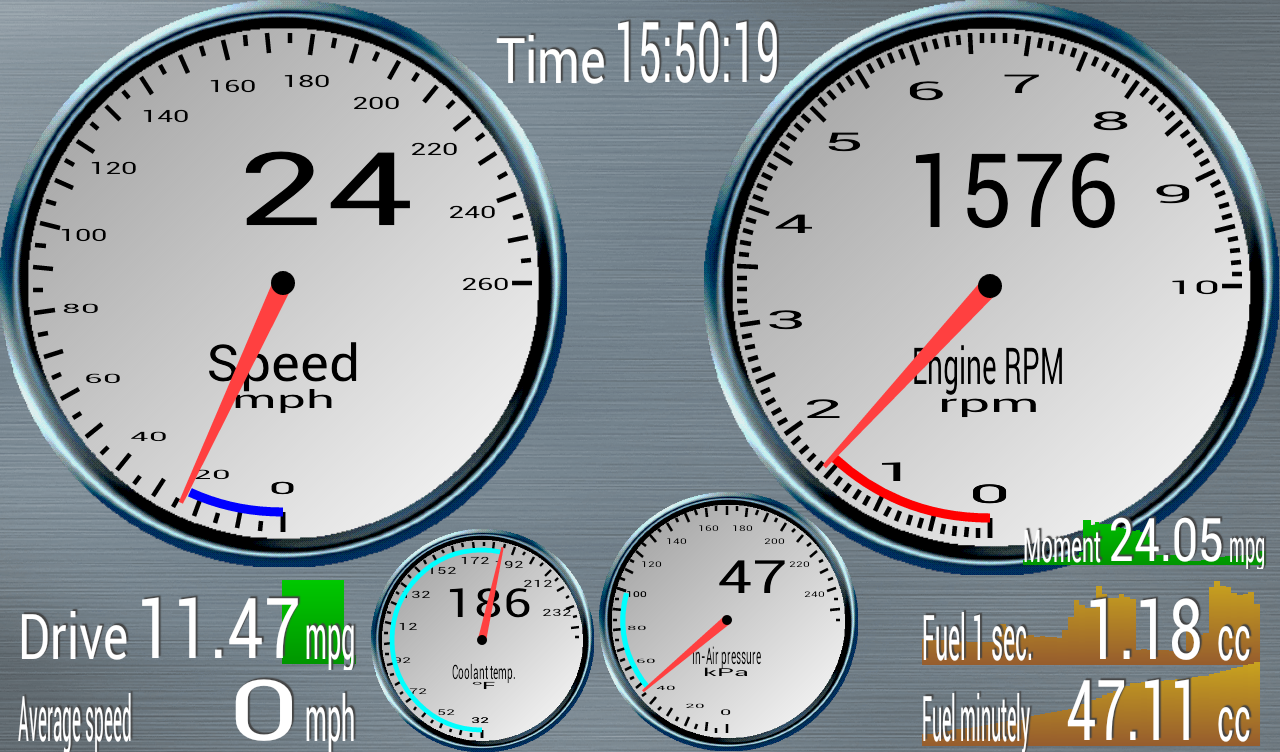 OBD Mileage (OBD2&ELM327 req.)- screenshot