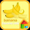 Banana dodol launcher theme icon
