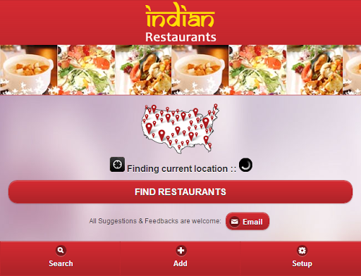 Indian Restaurant Finder - USA