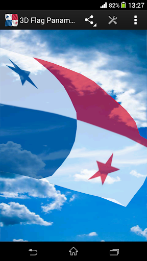 3D Flag Panama LWP