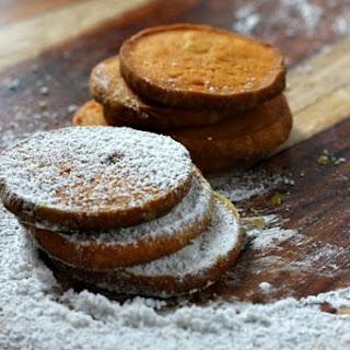 Pumpkin Shortbread Cookies.