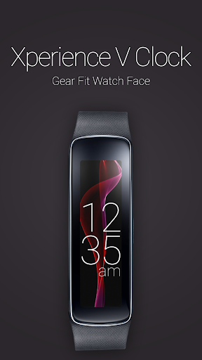 Xperience V Clock for Gear Fit