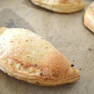 Lemon Hand Pies Sprinkled With Vanilla Sugar