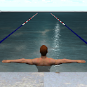 Breath training in swimming icon