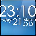 Simple Digital Clock Donate icon